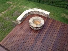 wood deck fireplace on wood deck chiminea outdoor fireplace on wood deck portable fireplace on a
