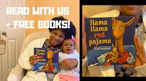 Llama Llama Red Pajama (Read With Us) + How To Get FREE Books Monthly! / Da'Myra  Lynch - YouTube