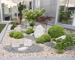 Gartengestaltung Mit Steinen Und Grsern Modern | ZiaKia.Com