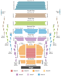 77 Veracious Njpac Seating Chart For The Victoria Theater