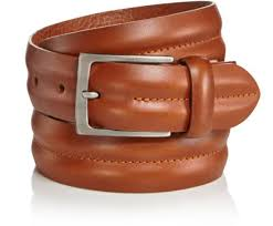 new mens trafalgar mid stretch tan 100 leather dress belt made in italy