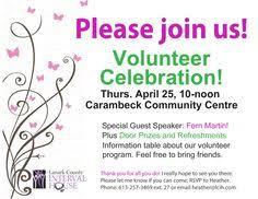 10 Best Volunteer Appreciation Invitation Images Poster Layout