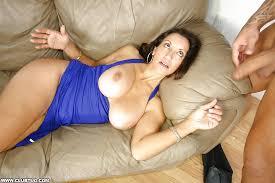 Cum on mature big tits