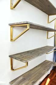 Building Floating Shelves Heavy Duty Fascinating Diy Floating Shelf Brackets Wood Shelf Bracket Plans Kitchen Amazing