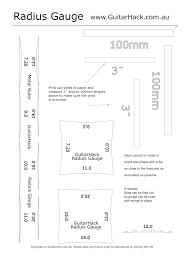 Free Gauge Chart Radius Gauge Template Get Rid Of Wiring Diagram Problem