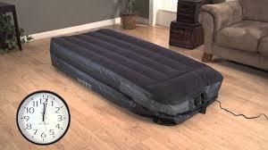 intex air mattress pump. Perfect Intex Intex Twin Air Bed Mattress With BuiltIn Electric Pump And F