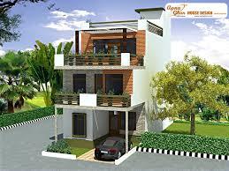 4 bedroom, modern triplex (3 floor) house design. Area: 108 sq mts (6m X  18m). Click on this link (http://apnaghar.co.in/login.aspx?ReturnUrl=%2fme