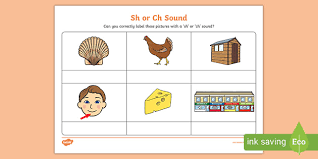 Please visit phonics and word recognition or reading: Sh Or Ch Sound Phonics Worksheet Free English Resource Twinkl
