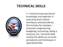 Example Of Management Skills Management Skills