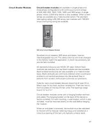 basics of meter mounting equipment siemens cources 47