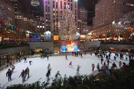 File:New York Christmas tree and skating-rink.jpg