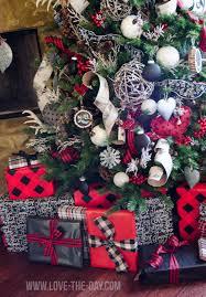 Plaid Christmas Tree Lumberjack Christmas Tree By Love The Day Michaels Dream Tree