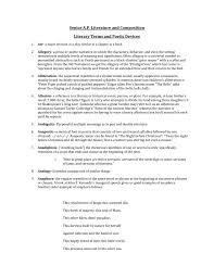 To Kill A Mockingbird Literary Terms Chart Key Key Terminology Literary Terms Poetic Devices