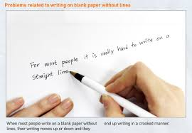 Laser Cap Creates Lined Paper Effect To Help You Witing In A