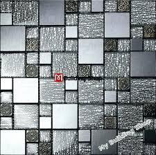 glass wall tile kitchen grey black tiles resin mosaic aluminum metal bathroom australia and marble wa