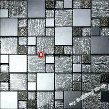 glass wall tile kitchen grey black tiles resin mosaic aluminum metal bathroom australia and marble wa