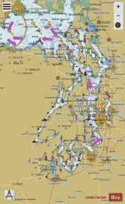 Puget Sound Marine Chart Us18440_p1688 Nautical Charts App