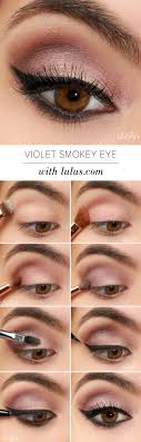 violet smokey eye makeup tutorial 15 fabulous step by step makeup tutorials you would love to try