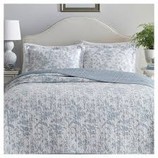 Blue Amberley Quilt Set - Laura Ashley® : Target & Blue Amberley Quilt Set - Laura Ashley® Adamdwight.com
