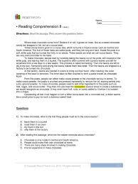 reading comprehension 1 cocoa bean chocolate rh es scribd com
