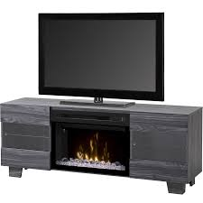 dimplex max media console electric fireplace acrylic ice in living room