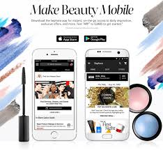 make beauty mobile the sephora app for instant on the go