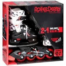 Roller Derby Boy S Tracer Adjustable Inline Skate Size Chart Details About New Roller Derby Falcon Q 70 Ice Inline Combo Boys Sz 3 6 60 Value