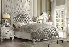 white bedroom furniture king. Wonderful Furniture VICTORIA 5 Pieces Traditional Antique White Bedroom Set NEW Furniture  King  Bed In I