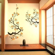 two look wall techniques asian designs paints photos