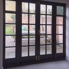 exterior dark oak french doors