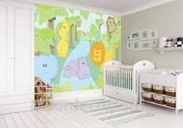 Jungle Behang Baby Safari 416 X 251 Cm