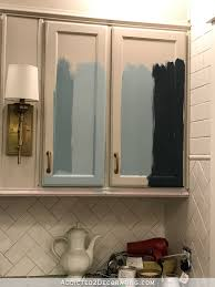 Painting New Kitchen Cabinets Teal Kitchen Cabinet Sneak Peek Plus A Few Cabinet Painting Tips