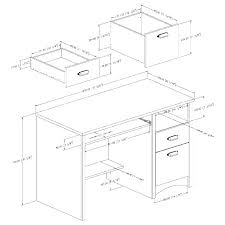 Office Desk Height Size Reception Desks Dimensions Heights