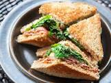 baby blt s with arugula