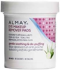 almay oil free gentle eye makeup remover pads 80 ct by almay
