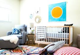 baby blue rug for nursery before after a colorful nursery in southern  family a hand tufted