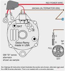 wire si alternator ver wiring diagram delco si alternator wiring diagram at Si Alternator Wiring Diagram