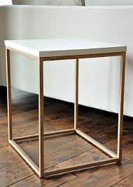 upscaling an inexpensive target side table to look super glam brilliant decorating mirrored furniture target