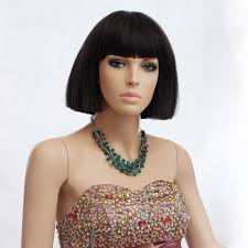 Japanese Straight Hair Style japanese style short straight hair wig with blunt cut bangs on 8926 by stevesalt.us