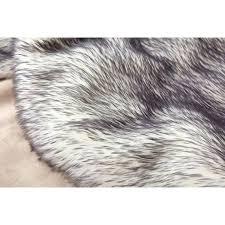 black faux sheepskin rug faux fur rug rug factory plus faux fox white black area rug