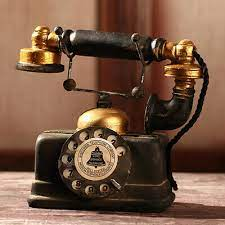 retro telephone vintage rotary