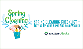 Spring Cleaning Checklist Tidying Up Your Home And Your
