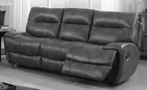 bailey leather 3 seater recliner sofa