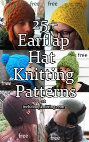 Earflap Hat Knitting Pattern Adorable Earflap Hat Knitting Patterns In The Loop Knitting