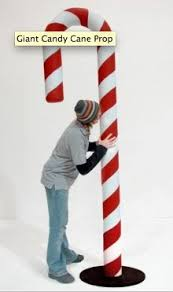 Giant Candy Canes Decorations Giant Candy Cane DIY Christmas Pinterest Giant candy cane 2