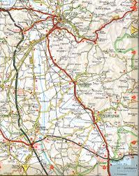 cortona road map  cortona italy • mappery