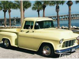 Truck chevy 1955 truck : 1955 Second Series Chevy/GMC Pickup Truck – Brothers Classic Truck ...