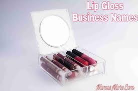 lip gloss business names 950 lip