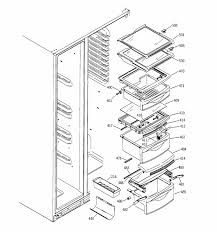 kitchen homely general electric refrigerator parts your home design schematics ge profile fridge wiring diagrams schematics intended for general electric refrigerator parts