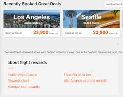 Aeroplan Fixed Mileage Chart Redeeming Aeroplan Miles For Star Alliance Upgrades Prince